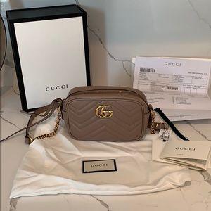 GUCCI: GG Marmont matelassé mini bag